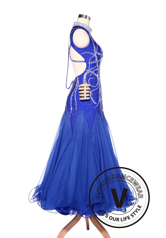 Luxury Elegant Royal Blue American Smooth Standard