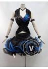 Black Competition Latin Rhythm Dancing Dress