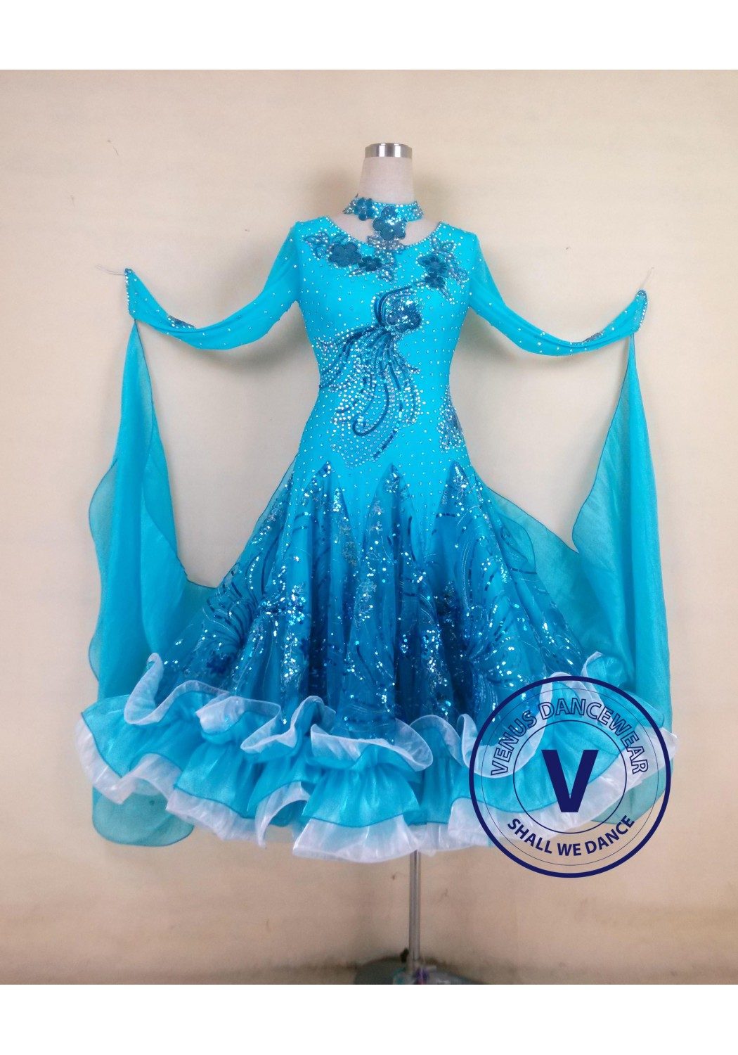 Standard Competition Ballroom Dress US16