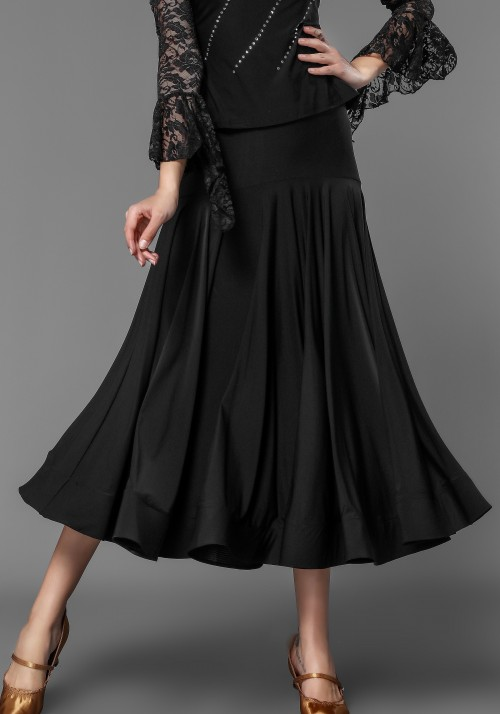 Luxury Crepe Classical Ballroom Skirt