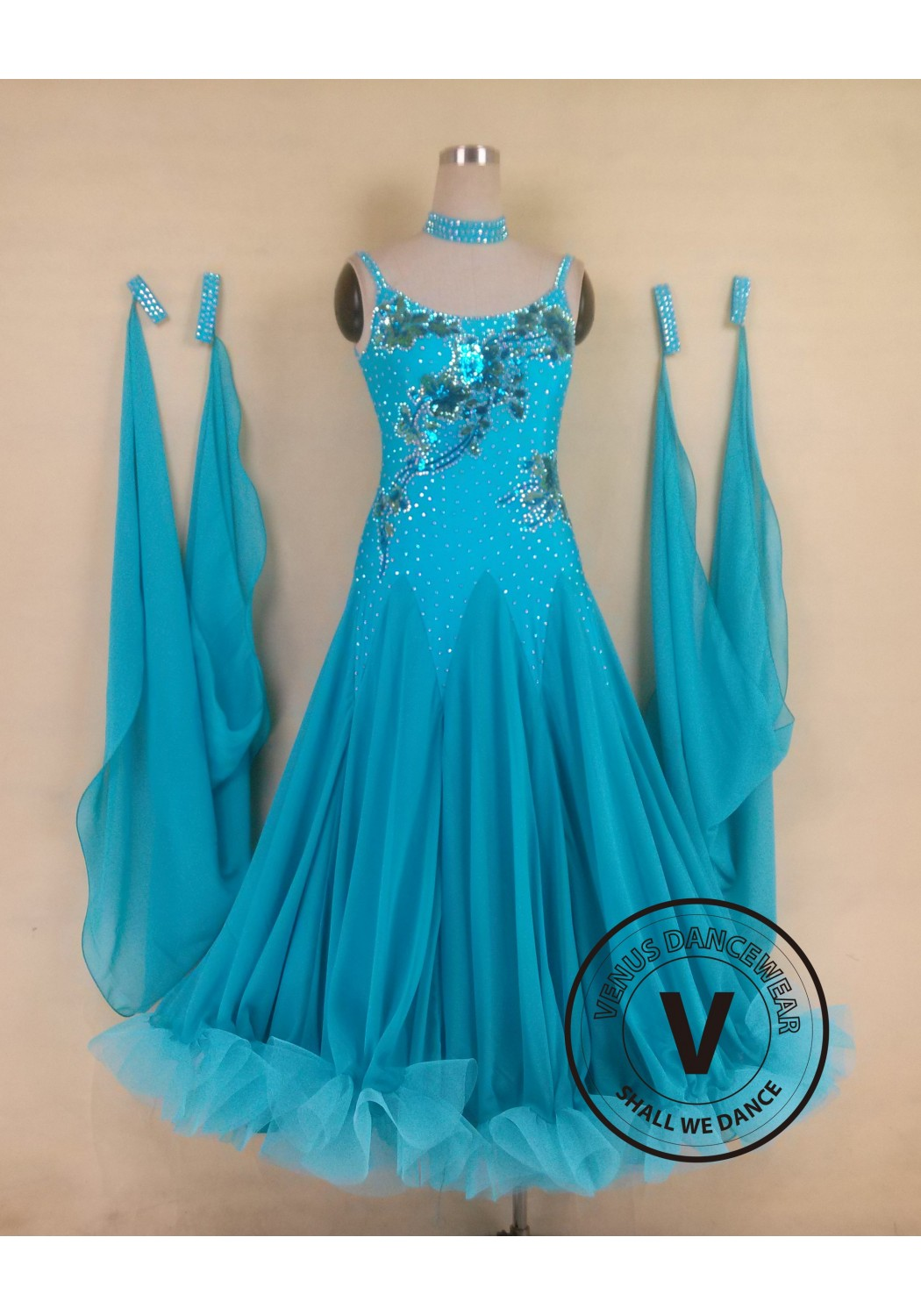 Standard Competition Ballroom Dress US43