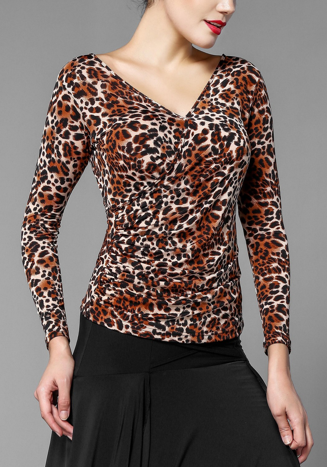 Leopard Full Sleeve Top