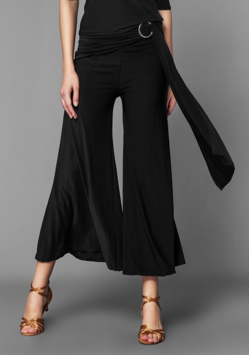 Ballroom Latin Rhythm Practice Dance Trousers Pants