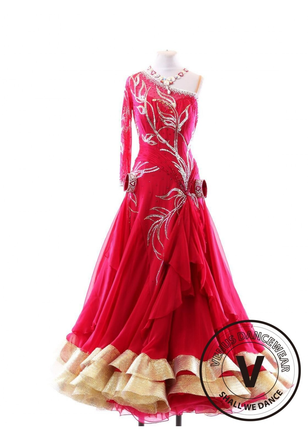 World Class Ballroom Competition Gown S123